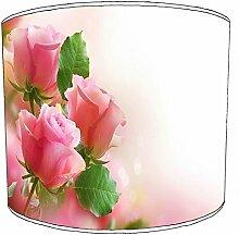 20,3cm Tisch Rosen Blumen lampshades7, 38