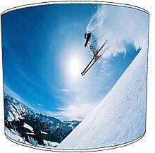 20,3cm Tisch Skifahren Lampshades1, 30,5 cm