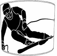 20,3cm Tisch Skifahren lampshades9, 20 cm