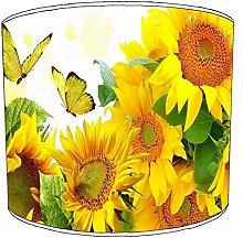 20,3cm Tisch Sunflower Floral lampshades4, 20 cm