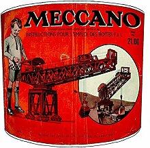 20,3cm Tisch Vintage Meccano lampshades11, 30,5 cm