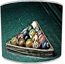 20,3cm Decke billiard, pool, snooker, 8 ball Childrens Lampenschirme 11