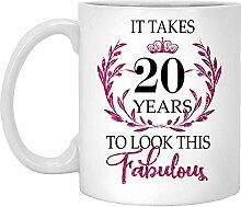 20. Geburtstagsgeschenk Für Frauen-Es Dauert 20