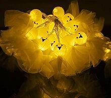 20 Halloween Ghost Sunny Doll LED-Lichterketten,