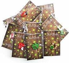 20 kleine Mini-Geschenke KLEEBLATT Glückspilz