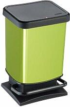 20 L Mülleimer Paso Rotho Farbe: Grün,