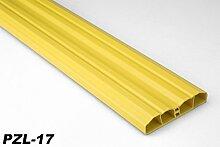 20 Meter PVC Zaunlatten Kunststoff Profile Bretter Gartenzaun 80x16mm, PZL-17