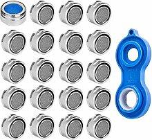 20 Perlator Strahlregler M24 Wasserhahn Sieb