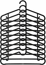20 Piece IKEA BAGIS Hanger Set (Black)