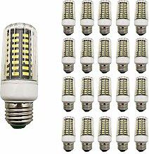 20 Stück 7W E27 LED Lampe Beleuchtung,AC 85-265V