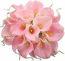 20 Stück Calla-Lilien, Brautstrauß Hochzeit,
