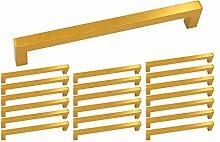 20 Stück Goldenwarm Stangengriff Vintage Gold