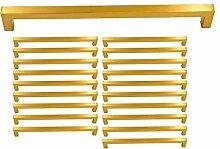 20 Stück Goldenwarm Zimmertür Griff Edelstahl