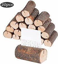 20 Stück Holz Holzsteg Tischkartenhalter
