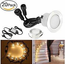 20 Stück LED Einbaustrahler led