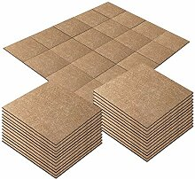 20 Stück selbstklebende Teppichfliesen 25,4 x