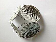 20 Stück Silber Adventskranz kerzenhalter