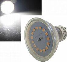 20 Stück | SMD LED Leuchtmittel | 230Volt | Sockel GU10 | 5Watt 3-Stufen Dimmbar | 420lm | 4000K | Neutralweiß