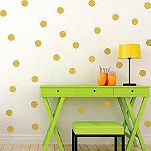 20Stück vergoldete gepunktet-Sticker Wohnzimmer Schlafzimmer Babyphone Kinder Spiele Räume von Open Buy