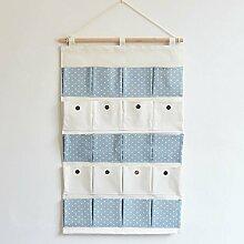 20 Tasche Multifunktions-Baumwolle und Leinen