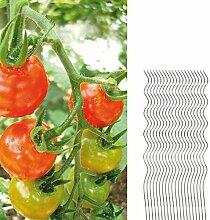 20 Tomatenspiralstäbe 110cm voll verzinkt Tomatenstab Tomaten Ranke Pflanzstab Stahl Profi Qualität Tomatenspiralstab