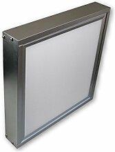 20 W LED Panel Aufbaulampe Wandleuchte Decken Strahler 30 x 30 cm inkl. Rahmensystem