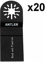 20x 35mm Antler Holz Klingen fein MultiMaster