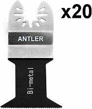 20x Antler 44mm Bi Metall Klingen Dewalt