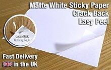 20x Easy Peel Crack Rückseite Selbstklebende,
