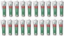 20 x Ramsauer 420 Kachelofen Acryl lichtgrau 1K