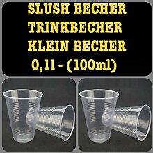 200-4200 Plastikbecher Ausschankbecher Slush