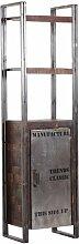 200 cm Bücherregal aus Massivholz Williston Forge