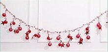 200 Cm Weihnachten Ball String Glocke Decke