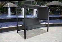 200 cm x 130 cm Pavillon Muflier aus Aluminium