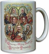200 Jahre Königreich Preußen Kaiser Wilhelm Friedrich der Große Foto Portrait - Tasse Becher Kaffee #10229