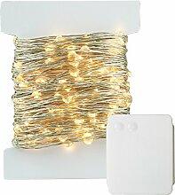 200 LED Lichterkette Batterie-betrieben