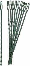 200 Pflanzenbinder Pflanzenhalter Verbinder Pflanzen Halter Pflanzstab