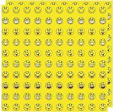 200 Smiley Belohnung Sticker (2 Bögen) Schule Klassenarbeit Einschulung Motivation Happy Fröhlich Dekoration