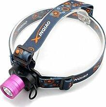 2000 Lumen Q5 LED 5W Stirnlampe Kopflampe Taschenlampe Bergbau Bergmann Lampe Hochkapazitäts-Akku + Ladegerä