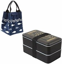 2000ml Double Layer Lunch Box Portable Mikrowelle