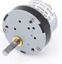200rpm Output Speed reduziert 5mm Schaft Dia Getriebe Geared Motor 12VDC