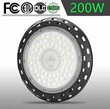 200W LED Hallenstrahler UFO Industrielampe Kühles