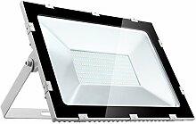 200W LED Strahler Außen, Papasbox Superhell