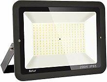 200W LED Strahler Außen Superhell LED Fluter