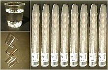 200x 2cl Schnapsbecher Qualitätsware: Hochwertig