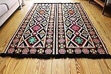 200x135 cm Orientalischer Teppich , Kelim,Kilim ,Carpet ,Bodenmatte ,Bodenbelag ,Rug Neu aus Damaskunst S 1-4-48