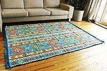 200x135 cm Orientalischer Teppich , Kelim,Kilim ,Carpet ,Bodenmatte ,Bodenbelag ,Rug,Wandteppiche, Neu aus Damaskunst S 1-4-62