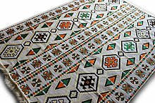 200x135 cm Orientalischer Teppich,