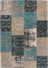 200x290 Teppich Cambodia - Phnom Penh Blau von