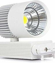 2015 SDYJQ Fabrikverkauf günstige kommerzielle LED Anschluss Lampe Clothing Store LED Titel light 30 W LED-Anschluss Lampe von 85 bis 265V, warm weiß - weiß